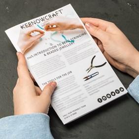 Bead Stringing Leaflet - Kernowcraft