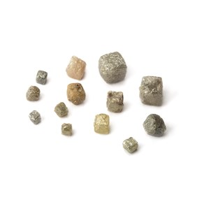 Rough Diamond Natural Crystal Cubes (undrilled)