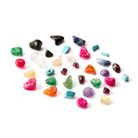 'Treasure Trove' Gemstone Bead Pack, 20g