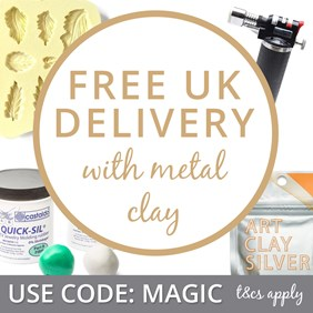 Free Delivery With Metal Clay Supplies