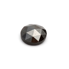 Black Diamond Rose Cut Cabochon