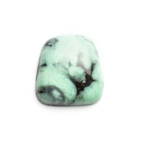 New Lander Turquoise Cabochon, Approx 11x10.5mm