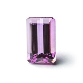 Amethyst 18x11mm Octagon Faceted Stone