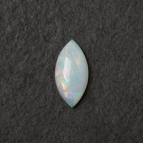 Solid Opal Marquise Cabochon, Approx 12x6mm