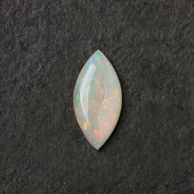 Solid Opal Marquise Cabochon, Approx 13x6.5mm