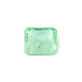 Emerald 10.5x9.5mm Rectangle Faceted Stone