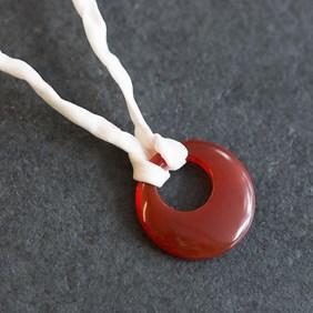 Carnelian Agogo Necklace