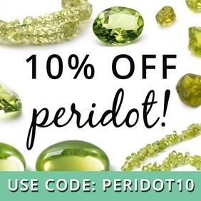 10% Off Peridot