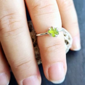 Jewellery Making With Peridot