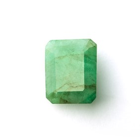 Emerald 20.5x17mm Octagon Faceted Stone