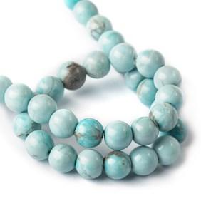 Larimar Round Beads