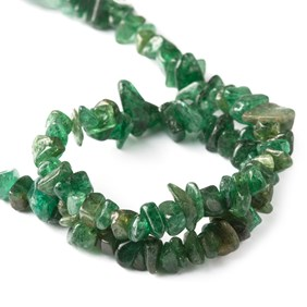 Green Aventurine Chip Beads