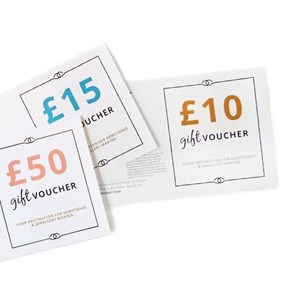 jewellery making gift vouchers