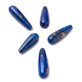 Lapis Lazuli Top Drilled Teardrop Gemstone Beads