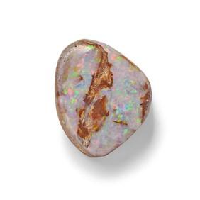 Australian Free Form Boulder Opal, Approx 14x11mm