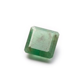 Emerald 11.5x11mm Rectangle Faceted Stone