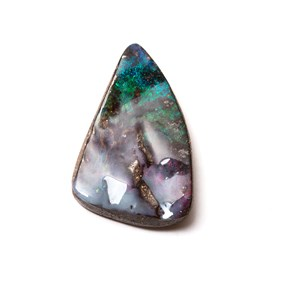 Australian Free Form Boulder Opal, Approx 26x17mm