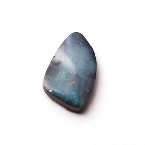 Australian Free Form Boulder Opal, Approx 12.5x9.5mm