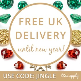 Free UK Delivery Until January 1st!