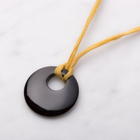 Onyx Agogo Necklace