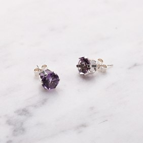amethyst snaptite earrings kit