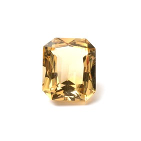 Citrine 22x18mm Octagon Faceted Stone