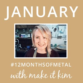12 Months Of Metal Challenge With Make It Kim