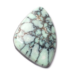 New Lander Turquoise Cabochon, Approx 36x25mm