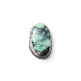 New Lander Turquoise Cabochon, Approx 15.5x10mm