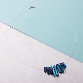 Mystic Coated Quartz Necklace