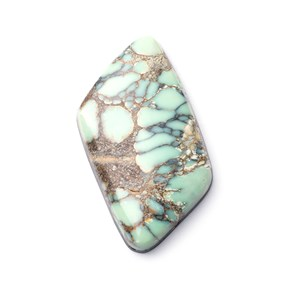 New Lander Turquoise Cabochon, Approx 37x19.5mm
