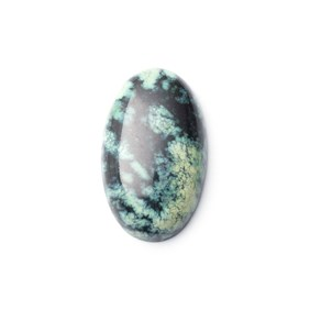 New Lander Turquoise Cabochon, Approx 25x15mm