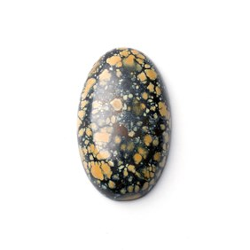 New Lander Turquoise Cabochon, Approx 24x15mm