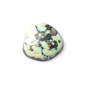 New Lander Turquoise Cabochon, Approx 17x7mm