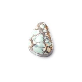 New Lander Turquoise Cabochon, Approx 15x12mm