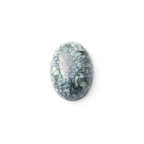 New Lander Turquoise Cabochon, Approx 13.5x10mm