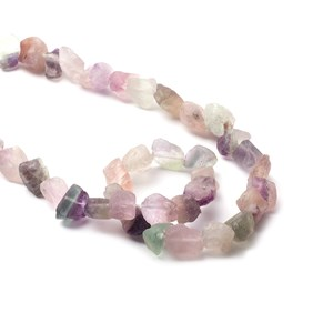 Rough Nugget Gemstone Beads, Approx 10x6mm to 12x8mm