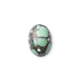 New Lander Turquoise Cabochon, Approx 13.5x9.5mm
