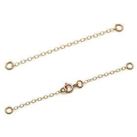 9ct Gold Safety Chains