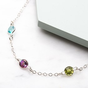 Neon Charm Bracelet