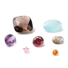 Assorted Faceted Gemstone Packs (minimum 6 stones per pack)