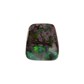 Freeform Australian Boulder Opal, Approx 16x14mm