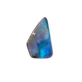 Freeform Australian Boulder Opal, Approx 13x8mm