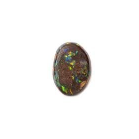 Freeform Australian Boulder Opal, Approx 11x7.5mm