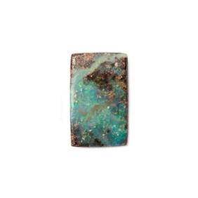 Freeform Australian Boulder Opal, Approx 15.5x9.5mm