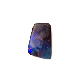 Freeform Australian Boulder Opal, Approx 11.5x7.5mm