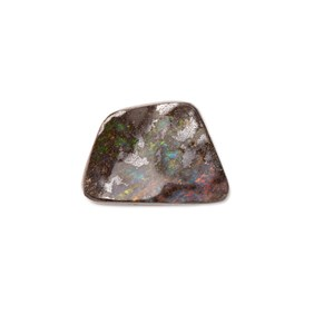 Freeform Australian Boulder Opal, Approx 14x10mm