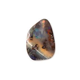 Freeform Australian Boulder Opal, Approx 18x12.5mm