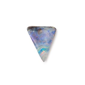 Freeform Australian Boulder Opal, Approx 15.5x13mm