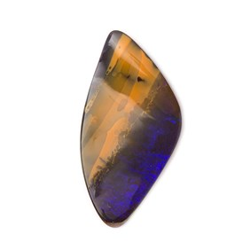 Freeform Australian Boulder Opal, Approx 29x15mm